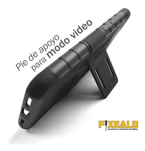 funda protector uso rudo resistente clip moto g4 plus xt1644