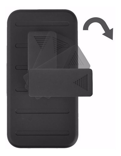 funda protector uso rudo robot case resistente zte blade v8
