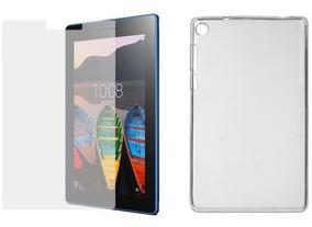 Funda Protector + Vidrio Templado Lenovo Tablet 7 Tab 3-710f