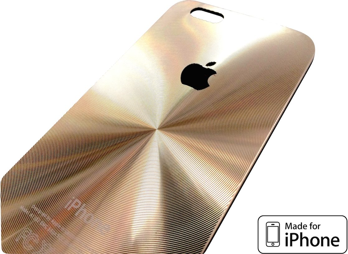 4e2638b974d Funda Protectora Cromada |dorada| iPhone 6 | 6 Plus | Varios ...