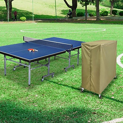 funda protectora de mesa de tenis de mesa plegable a prue...