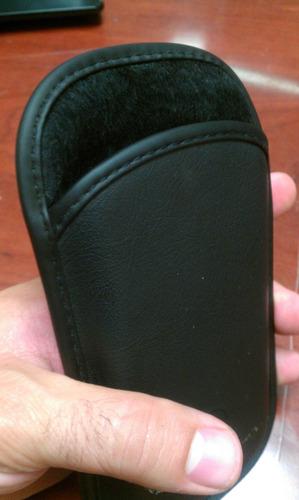 funda protectora de piel para smartphones de hasta 5