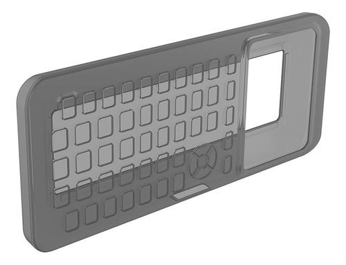 funda protectora de silicona suave para calculadora.