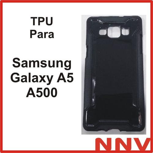 funda protectora de silicona tpu para samsung galaxy a5 a500