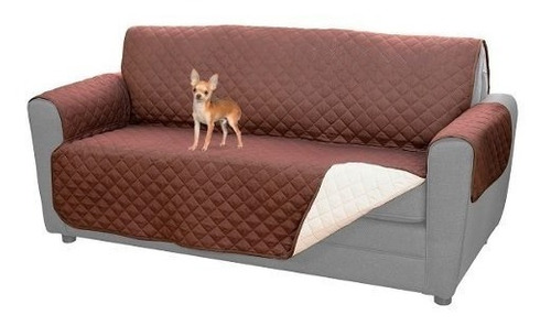funda protectora mascotas 3 cuerpos reversible sofá sillón
