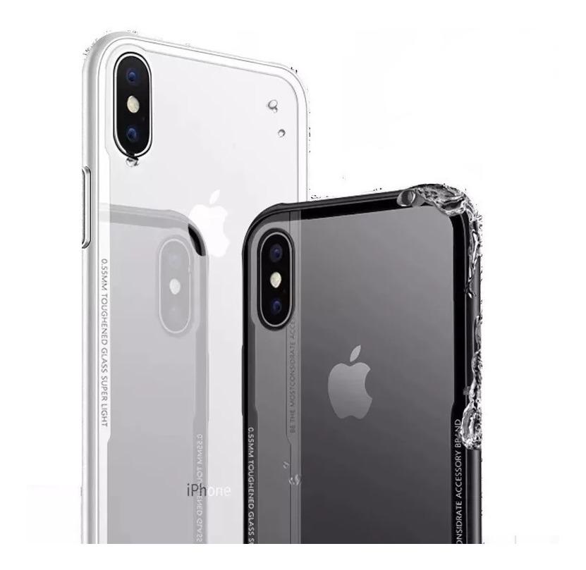 9f62dd035ff funda protectora slim lujo iphone 7 8 10 xs max xr cristal t. Cargando zoom.