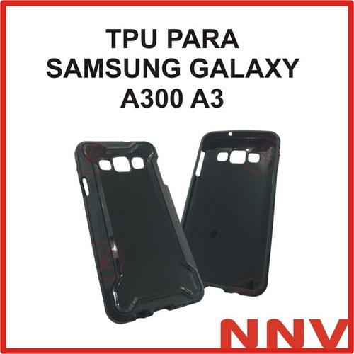 funda protectora tpu silicona para samsung galaxy a300 a3