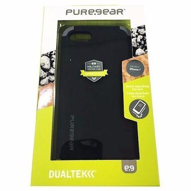 funda puregear dualtek iphone 7 negra