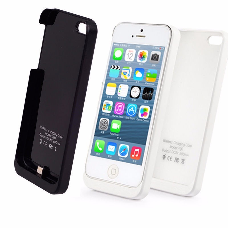 Carga Inalambrica Iphone  Con Funda