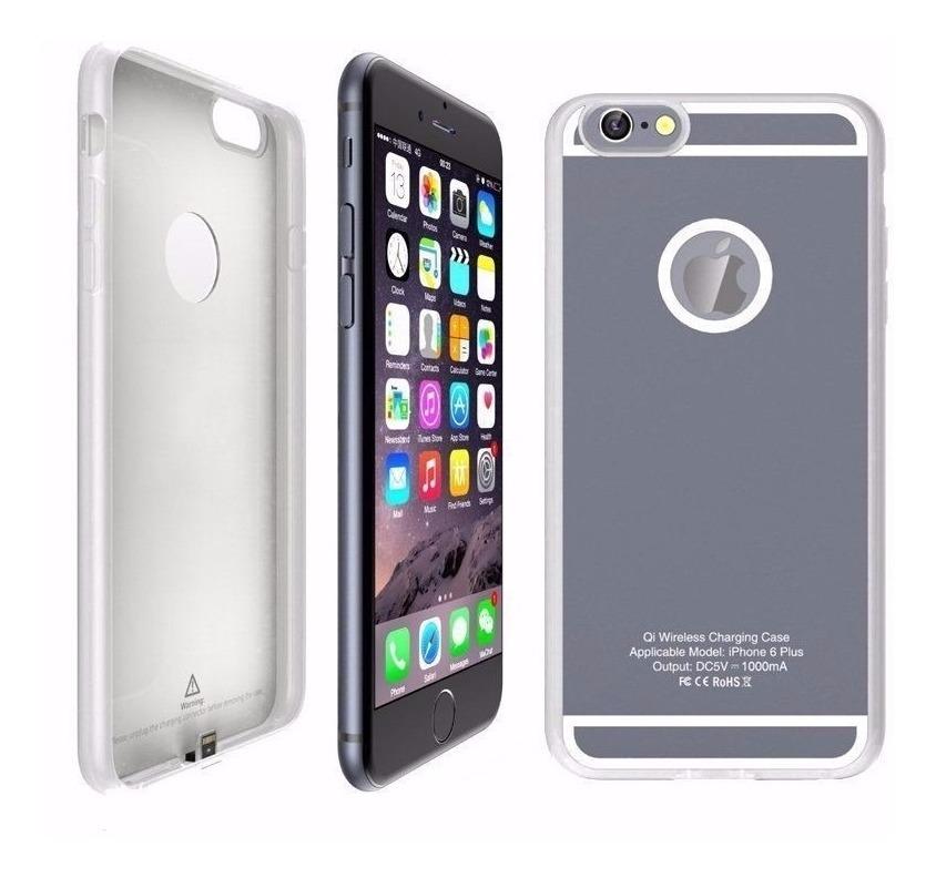 funda iphone 6s plus carga inalambrica