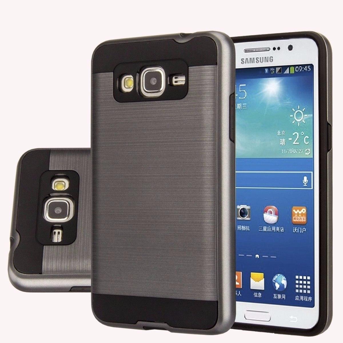 c925e9042c6 Funda Rigida Metalizada P/ Samsung J7 Prime + Templado - $ 249,99 en ...