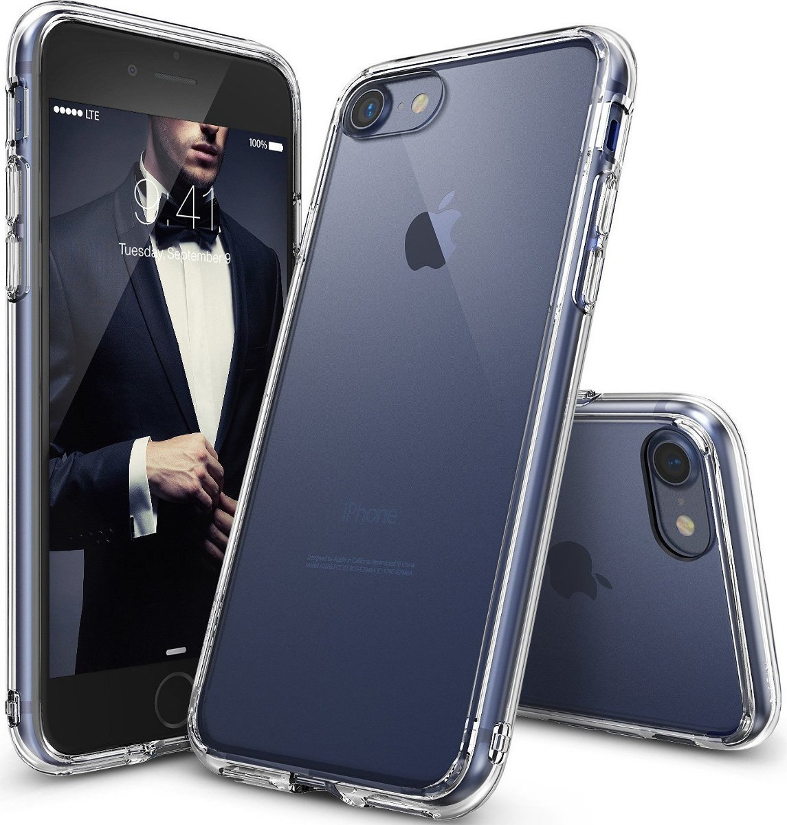 503fe0de8bf funda rigida transparente antigolpe iphone 5 6s 7 8 plus x. Cargando zoom.