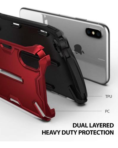 funda ringke  iphone x xs xs max xr dual x maxima proteccion
