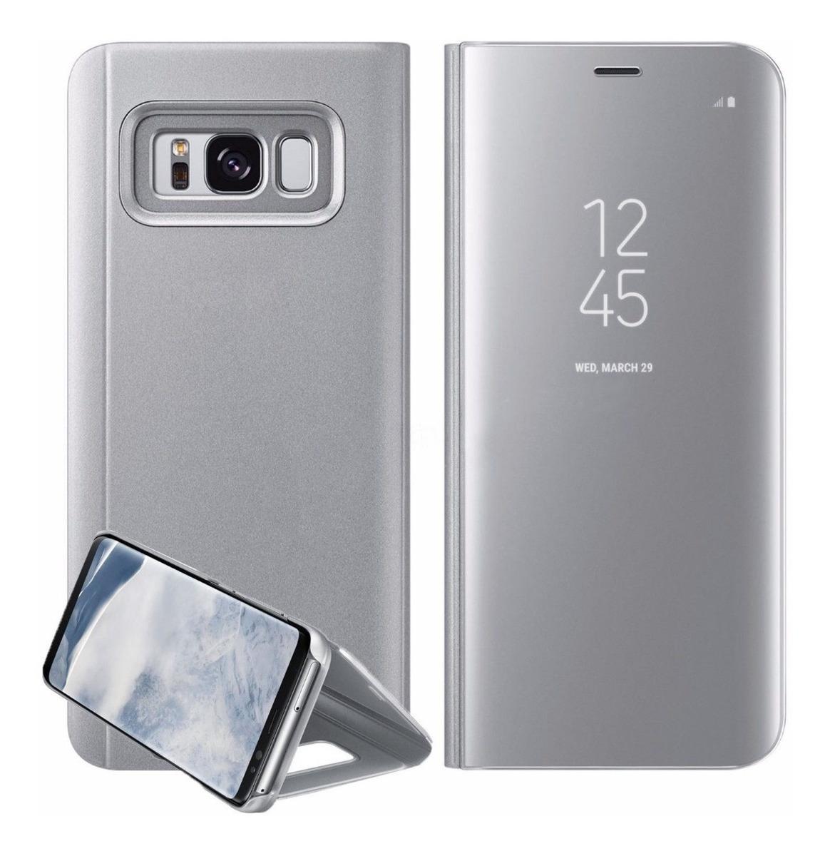 big sale 46bc9 40749 Funda S View Flip Cover Samsung Galaxy S8 Plus Compatible