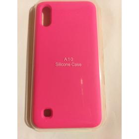 Funda Samsung Galaxy A10 Silicone Case Rosa