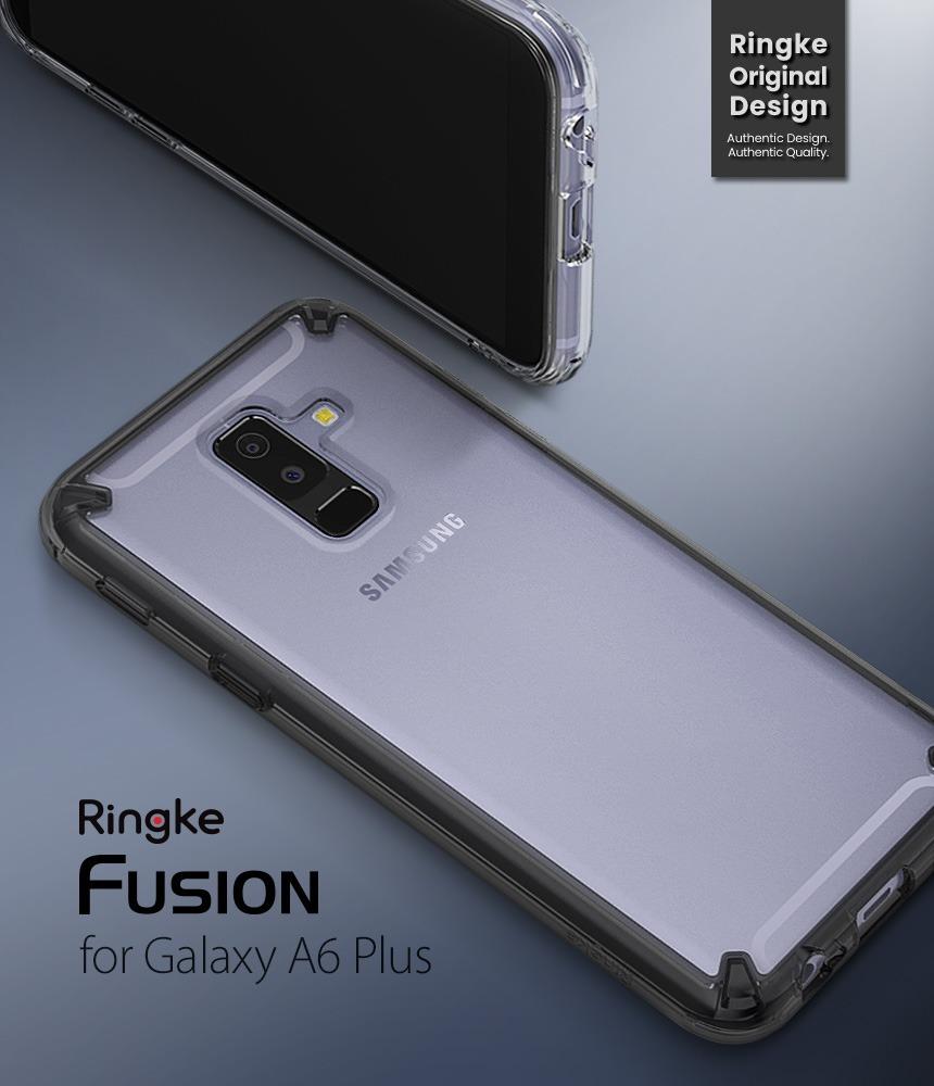 el precio más baratas precios baratass moda atractiva Funda Samsung Galaxy A6 Plus 2018 Ringke Fusion Anti Impacto