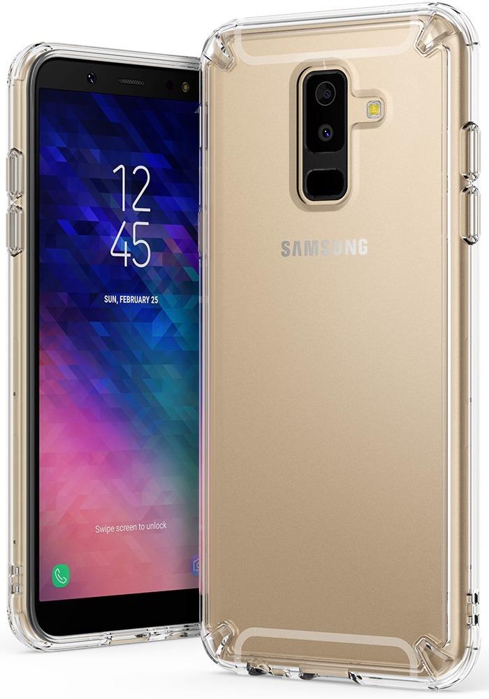alta calidad Tienda online barato mejor valorado Funda Samsung Galaxy A6 Plus 2018 Ringke Fusion + Vidrio X3