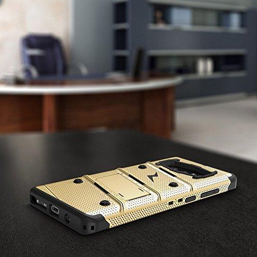 87dce1da365 Funda Samsung Galaxy Note 8, Zizo [serie Bolt] Soporte De ...
