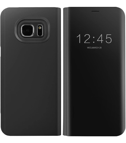funda samsung galaxy s7 edge aicase s-view flip mirror sleep