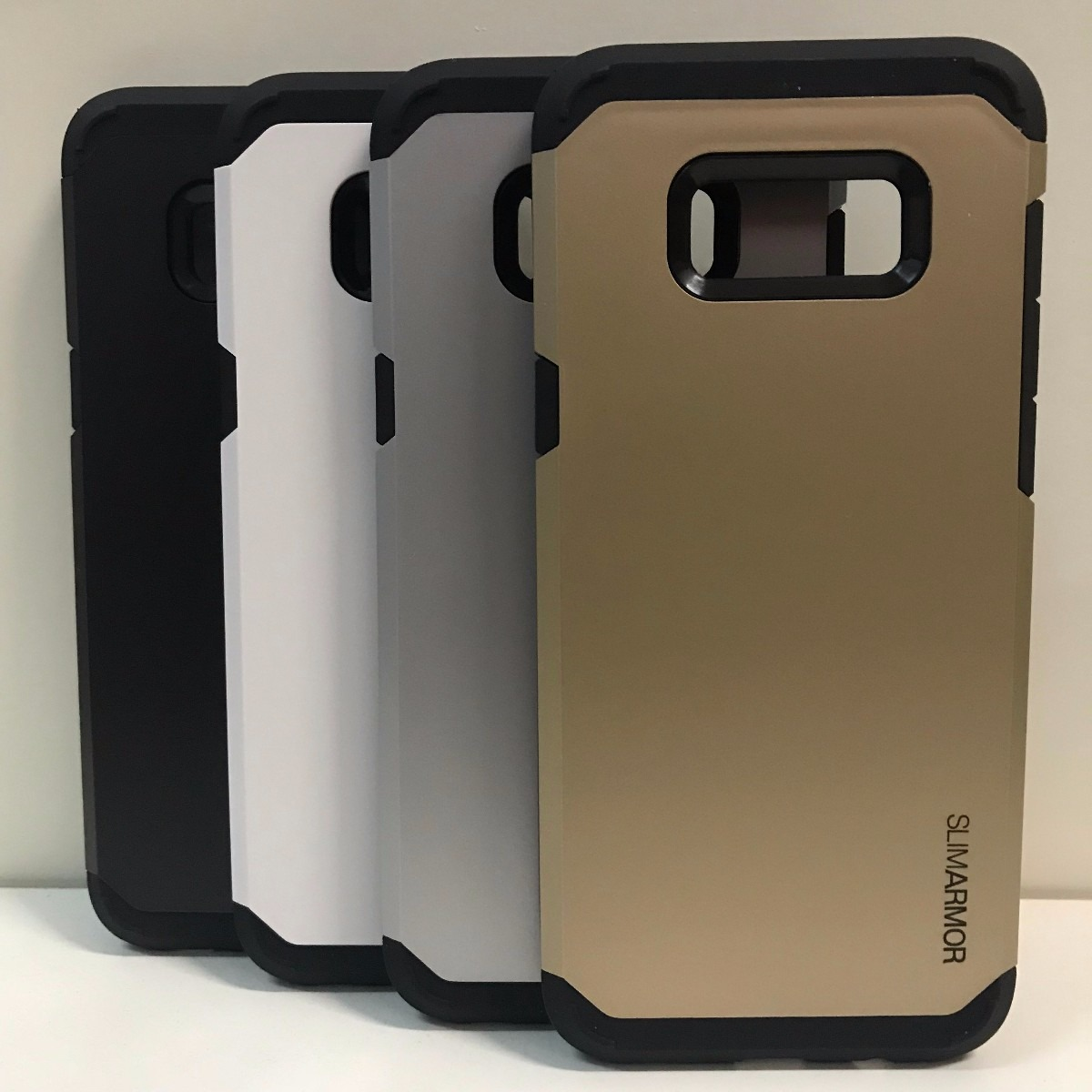 new styles 55eae 1bc08 Funda Samsung Galaxy S8 Y S8 Plus Slim Armor