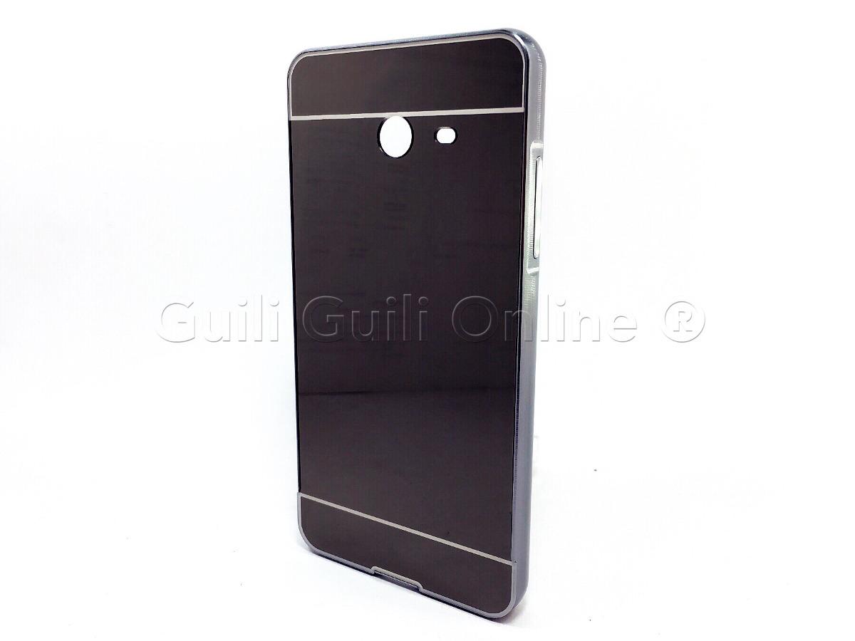 471fa6e2de2 Funda Samsung J7 2017 Bumper Espejo Negro - $ 80.00 en Mercado Libre