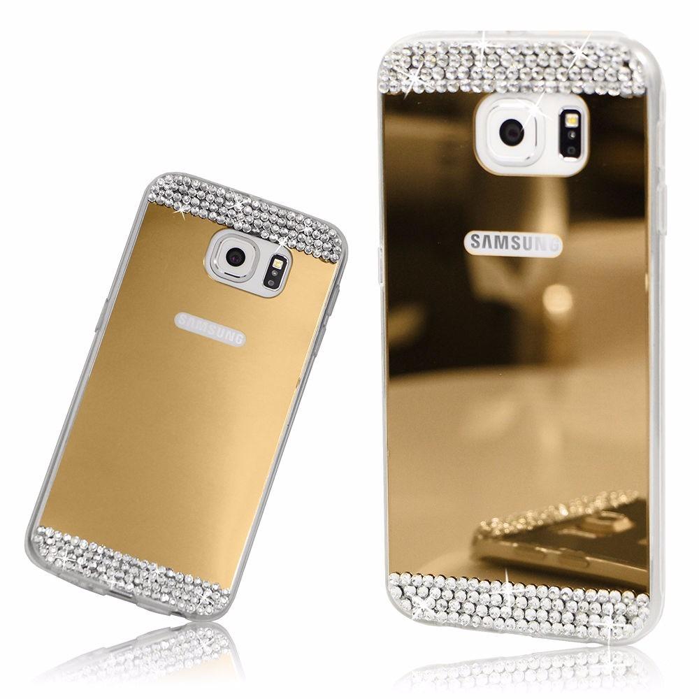 d7c7072615c Funda Samsung J7 Neo Fina Bumper Estilo Espejo De Lujo Stras - $ 384 ...
