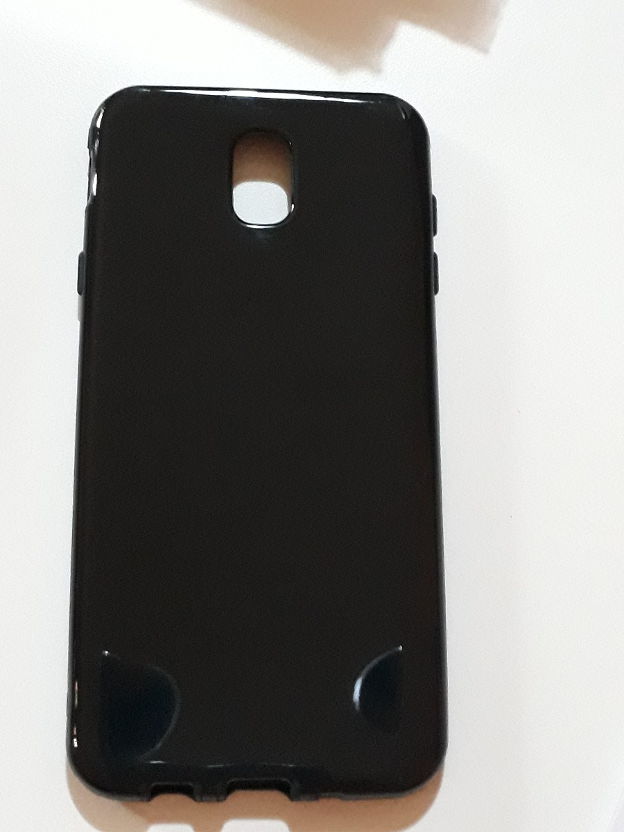 87380a3559b Funda Samsung J7 Pro Protector Tpu De Silicona Negra - $ 120,88 en ...