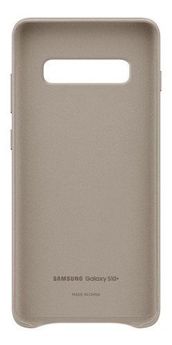 funda samsung leather cover - protective - s10+