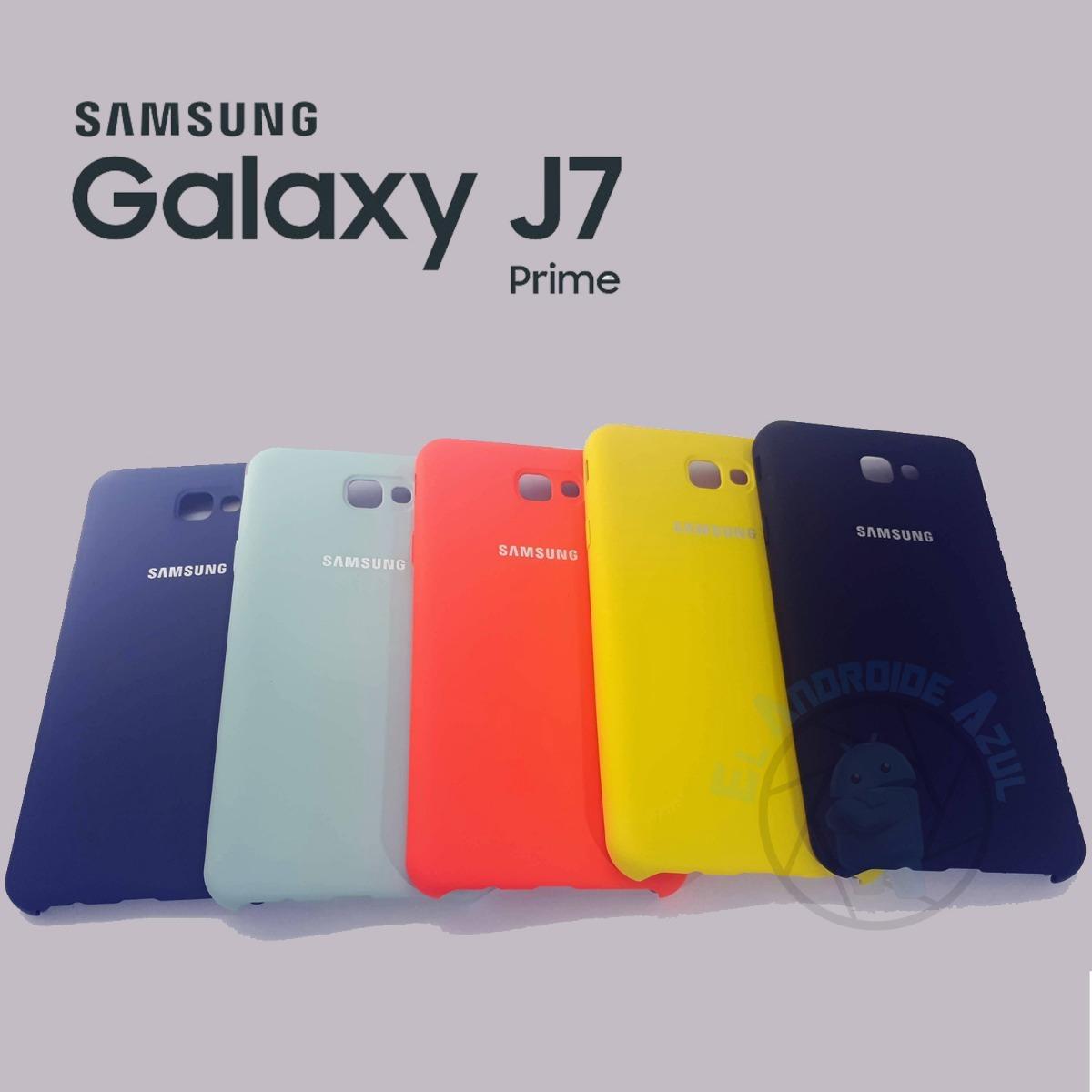 best service 83ce6 d8a85 Funda Samsung Original Galaxy J7 Prime Silicone Case