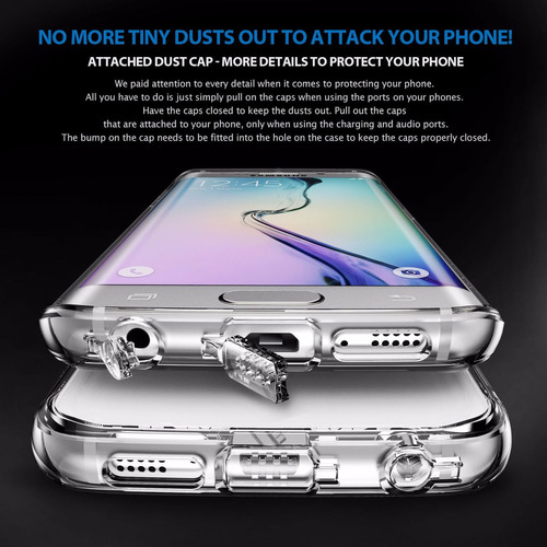 funda samsung s7 edge ringke® noble anti impacto original