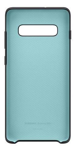funda samsung silicone cover - protective - s10+ - black