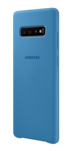 funda samsung silicone cover - protective - s10+ - blue