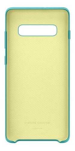 funda samsung silicone cover - protective - s10+ - green