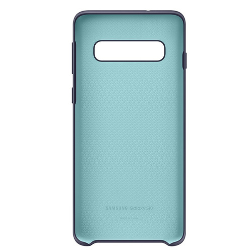 funda samsung  silicone cover - protective- s10 - navy blue