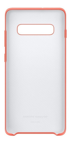 funda samsung silicone cover - protective - s10+ - pink