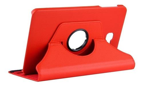 funda samsung tab a 10.1 giratoria 360 símil cuero eco t580