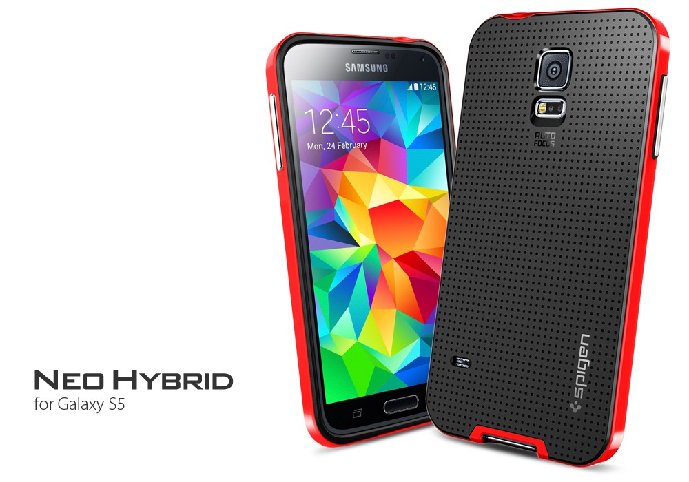569464b5ed4 Funda Sgp Neo Hybrid P/ Samsung S7 S6 S5 S4 J5 J7 + Templado - $ 249,99 en  Mercado Libre
