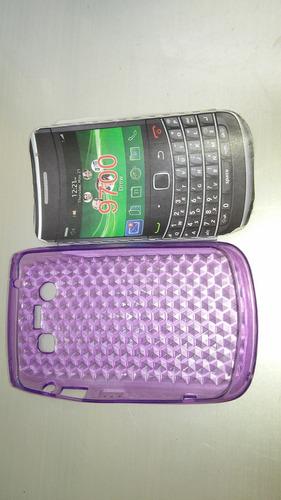 funda silicon para blackberry