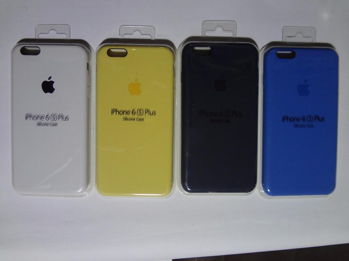 4dc14ed6b32 Funda Silicon Para iPhone 6 Plus 6s Plus Original - $ 160.00 en ...