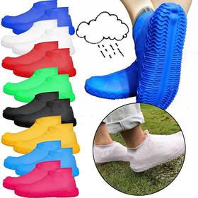 Funda Silicona 100% Impermeable Zapatos Lluvia