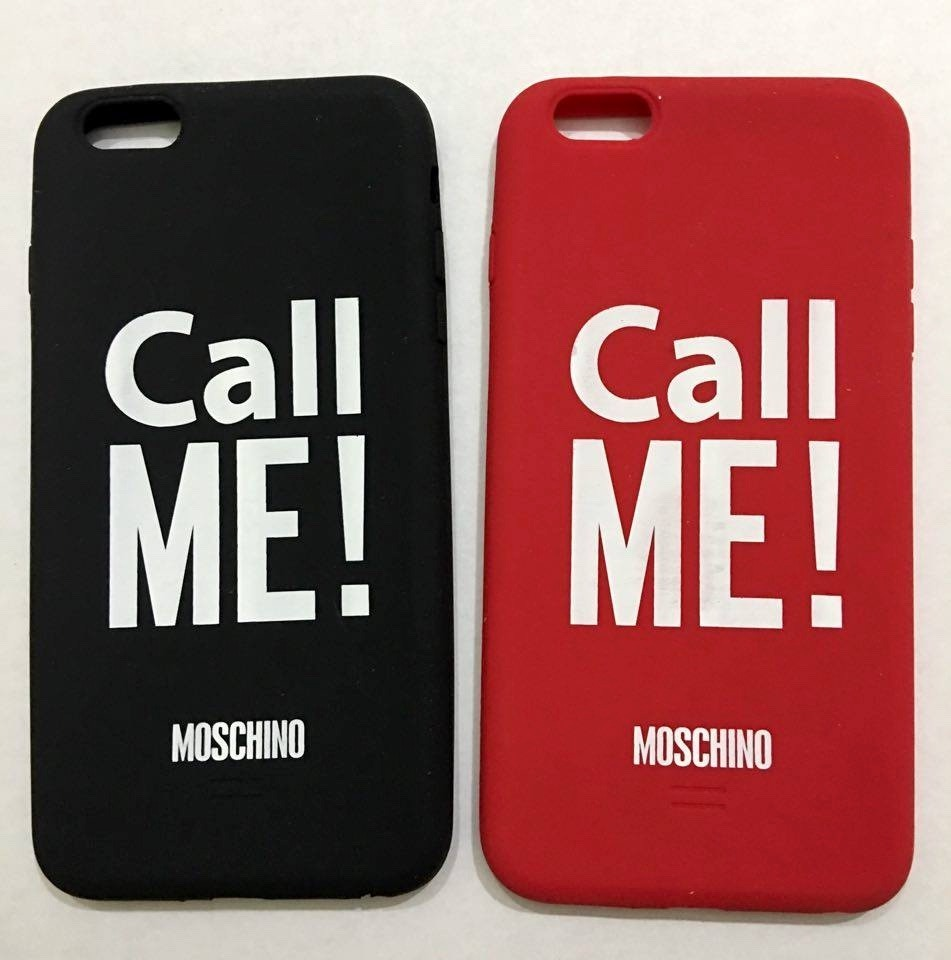 5d993161b97 funda silicona 3d moschino palabra iphone 6/6s plus (5,5). Cargando zoom.