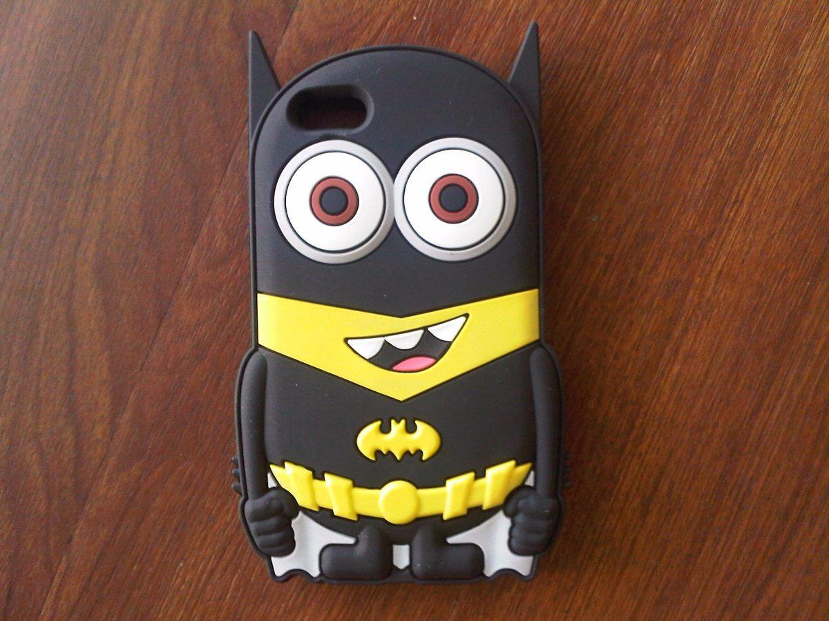4263ebf2b9e Funda Silicona 3d Stitch - Minion Batman Para iPhone 5 - 5s - $ 159 ...