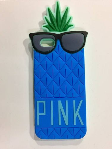 funda silicona 3d victoria secret pink iphone 6 / 6s (4,7 )