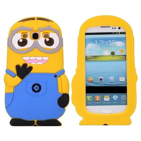 dbdda349c72 Funda Silicona Animada 3d Minion Para Samsung Galaxy A3 - $ 49,99 en ...