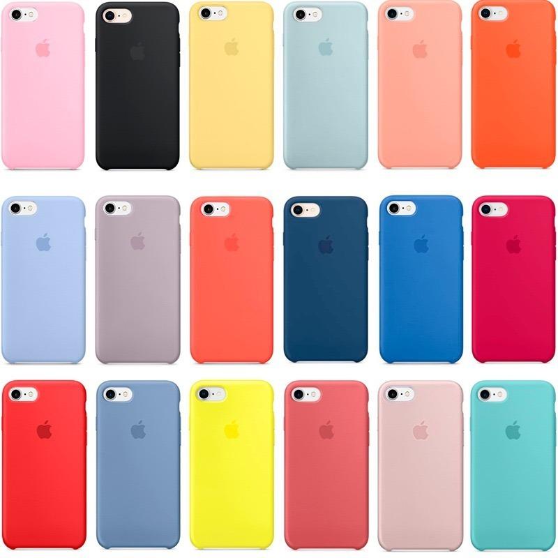 Comprar Funda Silicone Case para el iPhone 8 / 7 Rosa Arena
