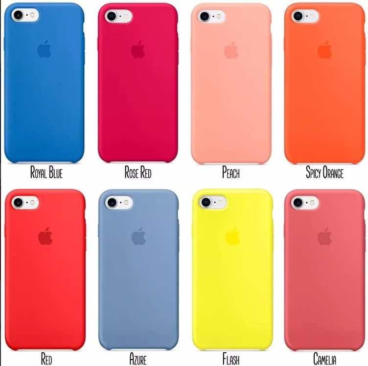 a61a42accf2 Funda Silicona Case iPhone X - 6 Plus 7 Plus 8 Plus Templado - $ 499 ...