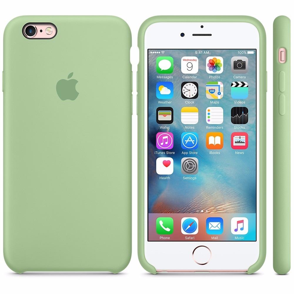 carcasas silicona iphone 6s
