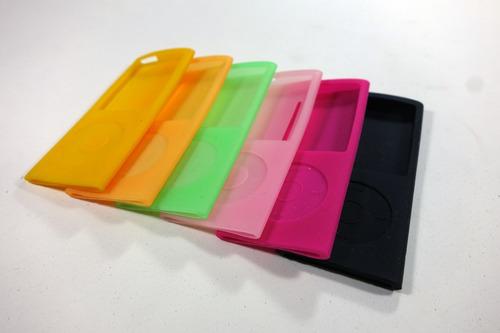 funda silicona ipod nano 4ta generación