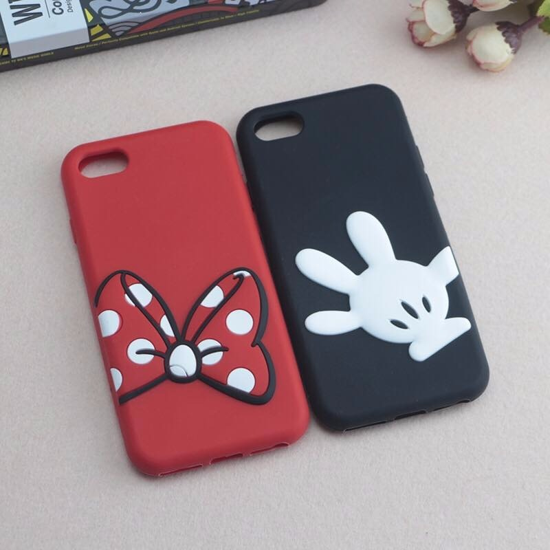 7c9aff84897 Funda Silicona Mickey Minnie Disney Para iPhone 6 Plus - $ 199,99 en ...