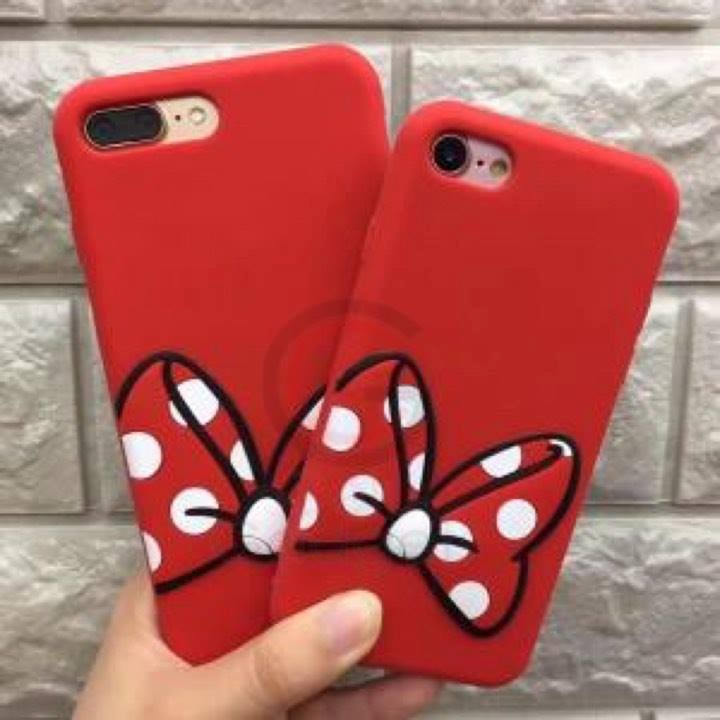 29a4093b9f9 Funda Silicona Mickey Minnie Disney Para iPhone 6 Plus - $ 199,99 en ...